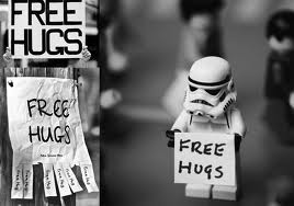 free hugs storm trooper